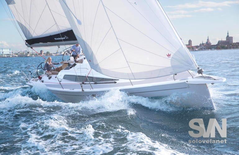 Dehler 34 New - vista di prua