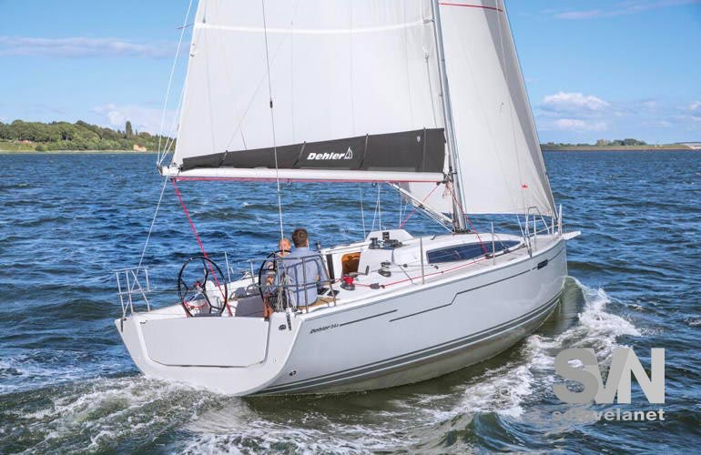 Dehler 34 New - vista di poppa