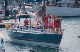Whitbread Round The World Race: il Maiden