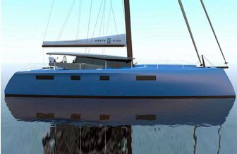 North Wind 55 catamaran, North Wind 55 catamaran - rendering