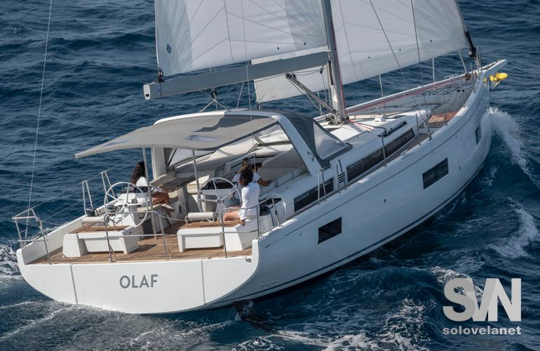Oceansi 54 Yacht, visto dal drone