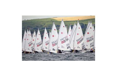 Laser Radial Fleet - Skandia Sail for Gold