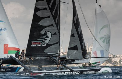 Act 6, Istanbul 2014 - Day Four - Emirates Team New Zealand