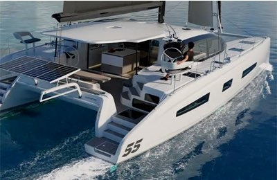 Outremer 55, il rendering