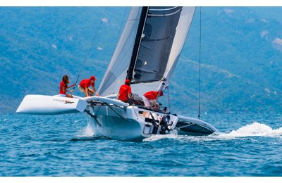 Corsair 880 sport racing trimaran
