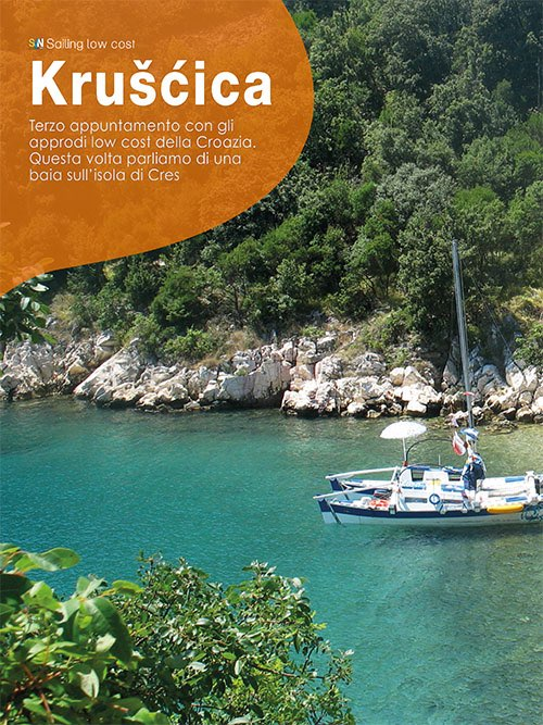 Kruscica, sailing low cost