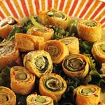 Anelli di frittata con verdura e zuccchine
