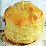 Torta di baccalà con pasta fillo