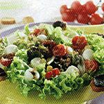 Mozzarella e pomodorini arrosto