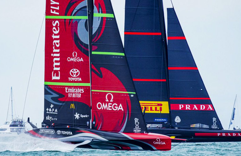 Luna Rossa Vs Team New Zealand