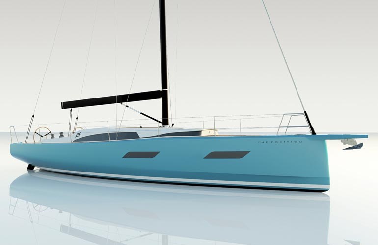 Il Forty Two dell'Eleva Yachts
